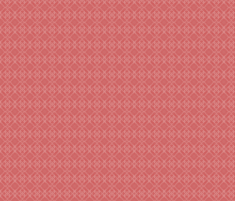 024 Quatrefoil red fabric by orange_octopus on Spoonflower - custom fabric
