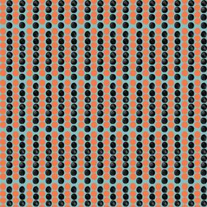 Medium Boho Polka Dots