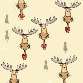 Merry Christ-moose