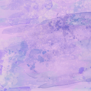 Purple Glacier Watercolor Paint Effect