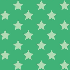 christmas star green