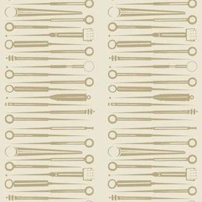 Acupuncture tools-taupe