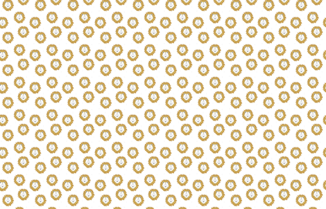 lion gold  -  elvelyckan fabric by elvelyckan on Spoonflower - custom fabric
