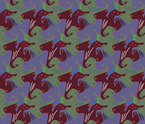 Creepers fabric by craige on Spoonflower - custom fabric