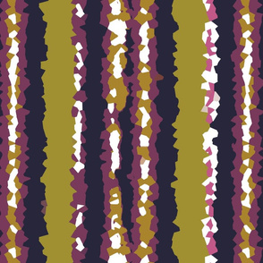 Crystallized Stripes in Purple