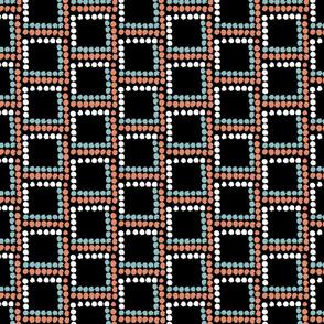 Textured dot squares