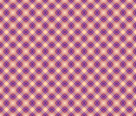 TIGER PLAID DIAGONAL 2 fabric by paysmage on Spoonflower - custom fabric