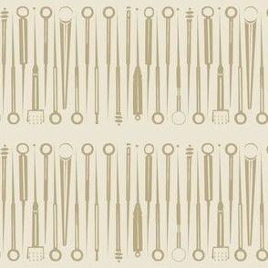 Acupuncture tools-taupe-ed