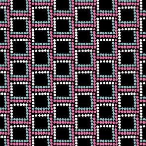 Textured Square Dots