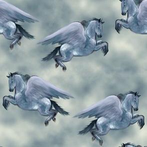 Blue Roan Pegasus
