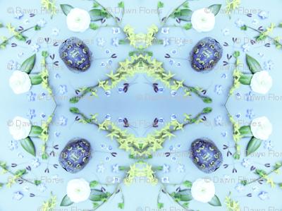 Turtles Pattern 1 (Baby Blue)