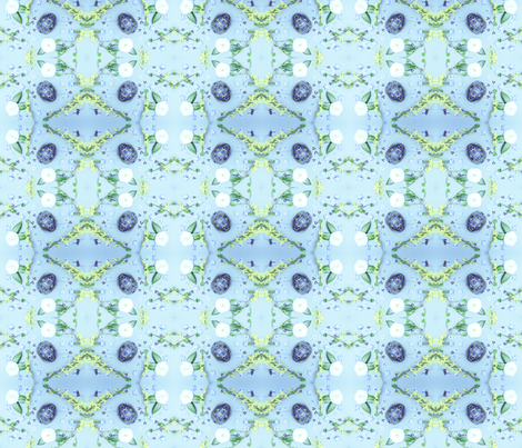 Turtles Pattern 1 (Baby Blue) fabric by belovedsycamore on Spoonflower - custom fabric