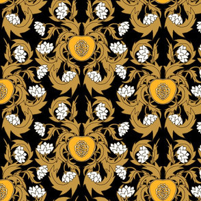 Vineyard Damask Nouveau