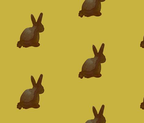cestlaviv_chocolate_honey gold fabric by @vivsbeautifulmess on Spoonflower - custom fabric
