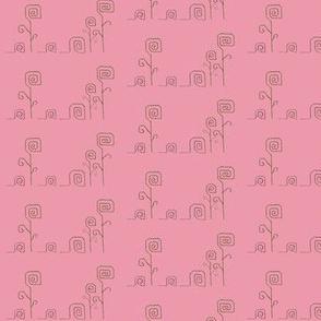 Rosy Snail Parade