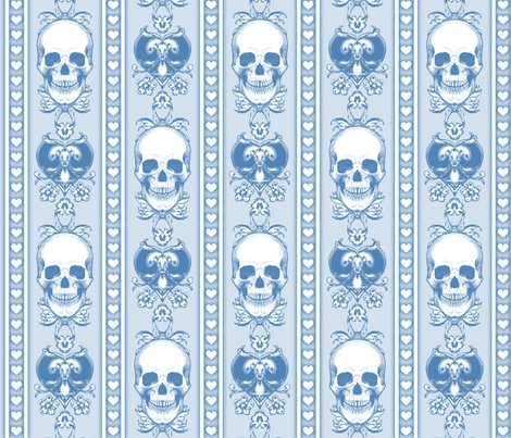 Baroque-skull-pattern-stripe_blue_repeat_shop_preview