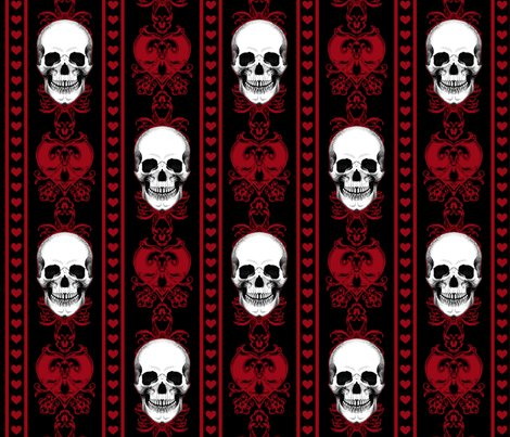 Baroque-skull-pattern-stripe_red_repeat_shop_preview