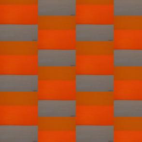 Orange & gray