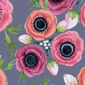 mistletoe Anemone //  Eternal Flower Garden child / Anemone