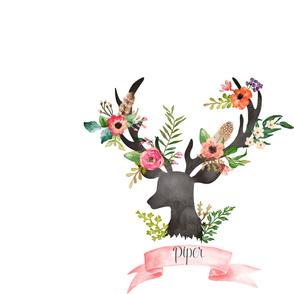 ELODIE Special Order - Personalized Deer