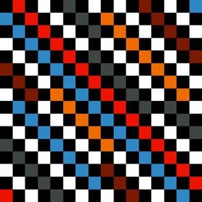 Vangogh Checkerboard