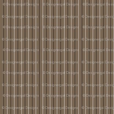 Cocoa Pinstripe