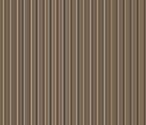 Cocoa Pinstripe fabric by designergal on Spoonflower - custom fabric