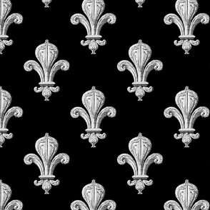Fleur De Lys Fabric Wallpaper Gift Wrap Spoonflower