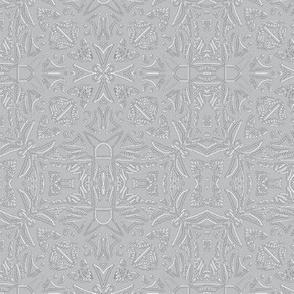 Embossed Lace - Nickel