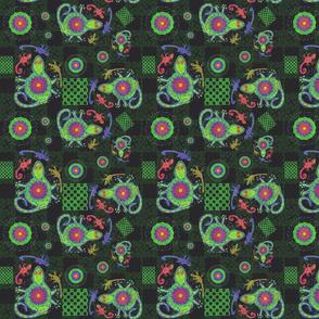 Rainbow Geckos