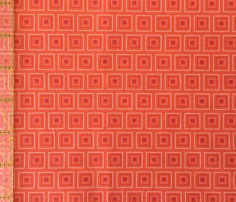 "Small Red & Orange 1/2"" squares"