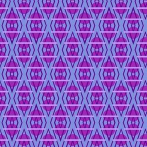 Diamante Circles in Violet