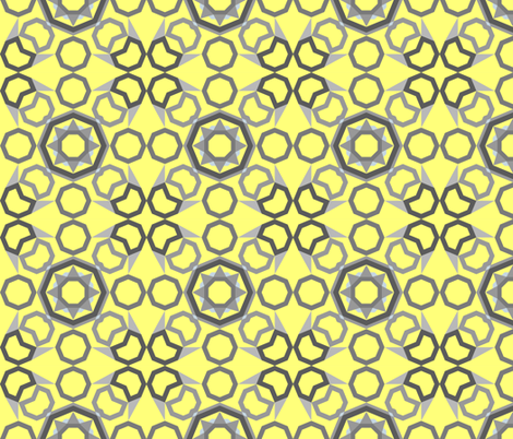 Wintry Dawn Effusion fabric by mischiefmuseum on Spoonflower - custom fabric