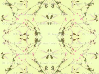Wild Cherry & Buttercups (Yellow)