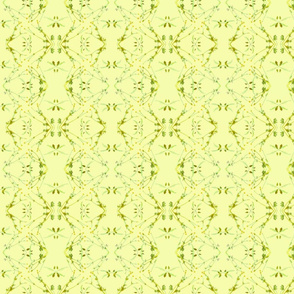 Wild Cherry & Buttercups (Hot Yellow)