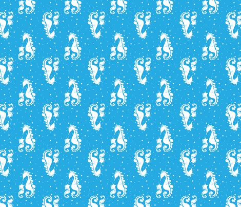 Sea Unicorns fabric by seystudios on Spoonflower - custom fabric
