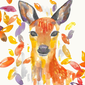 "Deer 18"" Square"