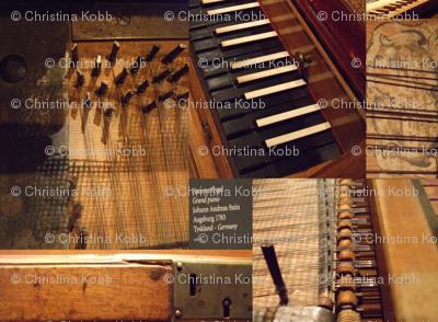 Grand piano Anno 1783