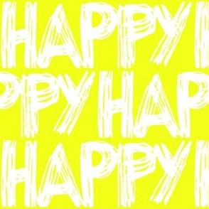 Happy Yellow Sunshine
