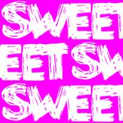 Sweet Hot Pink Graffiti