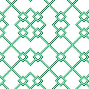 Green Windowpanes