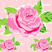 Watercolor Rose Garden LG - petal