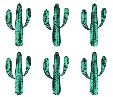 Cactus Cut And Sew Plush Cactus Plushie Pillow Cactus