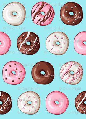 small donut fabric