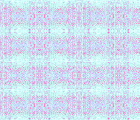 Really Wild Oats (Electric Baby Blue) fabric by belovedsycamore on Spoonflower - custom fabric