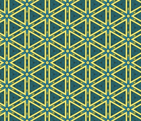Dream Of the Rarebit Fiend ~ Starburst fabric by peacoquettedesigns on Spoonflower - custom fabric