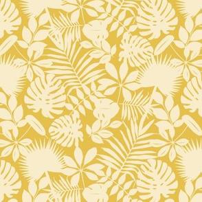 Wave of Palms - Terra Orange