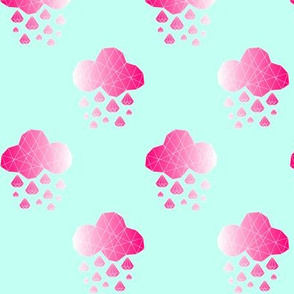 Diamondclouds Pink/Mint