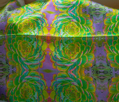 Cactus in Greens Art Nouveau Kaleidoscope