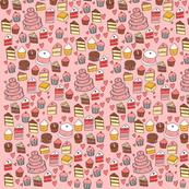Many Tiny Cakes Print